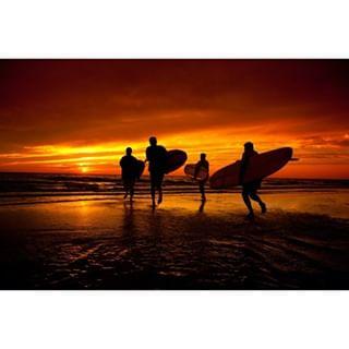 commercialphotography sunset kikorphotography surfers