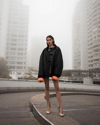model fashionshooting editorial fashioneditorial newwork photographer like fog urban city beautiful