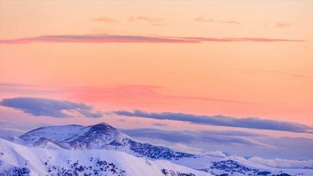 travelphotography landscapephotography caucasus georgia winter timelapse mountains mountainphotography yourshotphotographer smellofthemountain gudauri mountainplanet landscape