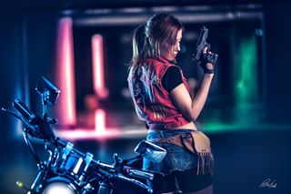 sexy theartofcosplay cosplay residentevil befeelphotos virago d810 yamaha claireredfield residentevil2 nikon 85mm artofinstagram picoftheday actiongirl cosplayer
