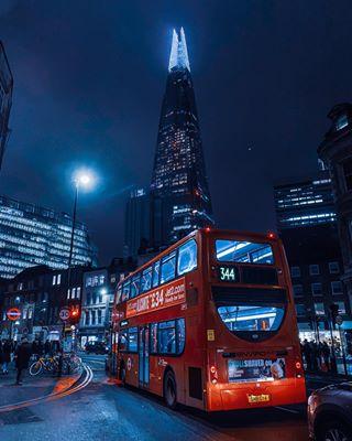 ilphalpha london nightphotography redbus shard shotoniphone