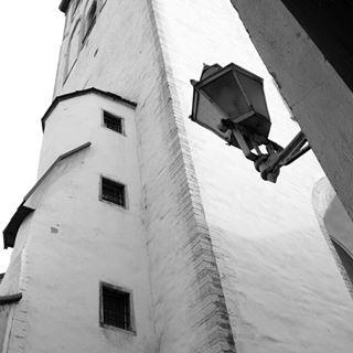 estonia oldtown tallinn architecture blackandwhite