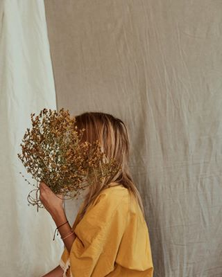 cotton coverup etsy etsyshop handmade hea heaonetsy heastudio ilusjahea kimono linen lookbookphotography natural naturalfabrics robe sustainable upcycledclothing yellow