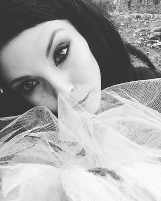 killereyes woodlands babyalien aliengirl dollface dollfaceup fashionportfolio fashionista thefashionpr0ject darkgirl mualovers mualookbook darklove closeupmakeup whitedress instadayli picsbyphone blackandwhite noiretblanc ladynoir tulle tulledress darkandlight darkmua