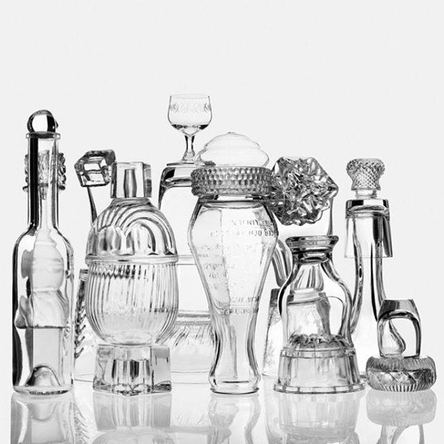 fotoskolansthlm secondhand glass phaseone vintage stillife