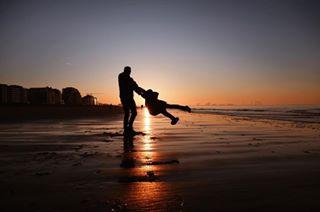 sunset sea sand runwildmychild ourchildrenphoto naturallight magicofchildhood fujixpro2 fuji childhoodunplugged child backlight