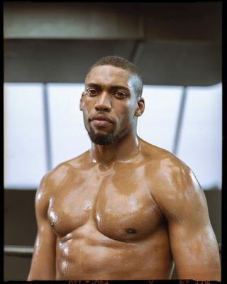 ishootfilm shootfilm mediumformat 120mm boxing underarmour onfilm shotonfilm portra portrait photography Photooftheday
