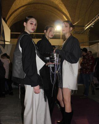 streetstyled streetstylelook streetstyle fashionweek ukrainianbrand ukrainianfashionweek ufw