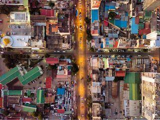 jw dronestagram landscapedroneshots drone messy golden aerial mavicpro mavic dji pattern chaos top city african africa downtown baixa maputo mozambique