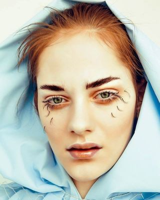magazine model makeupartist weirdart tearsheet publishedwork onlinemagazine editorial editorialphotography photography beautyshot makeup
