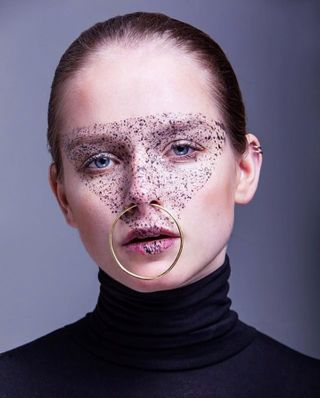 prague beautyphotography beautyshoot studiolights tearsheet onlinemagazine piercings fakefreckles editorialphotography editorial czechrepublic photoshoot closeupphotography