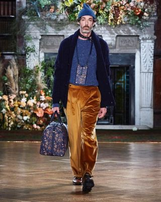 autumnwinter2020 print location london fashion AW20 style show designer collection runway daks lfw