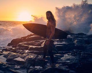 surfsup norisknofun vollbeard hairyspirit southafrica yzerfontein surflifestyle surflife beardlife beard bearded rocks blackrocks longhair cliffs epic atlantic sunset swell coast oneill wetsuit guyholdingasurfboard surfboard surfer surf yolo gooddayforsurf sprayaf posinghard