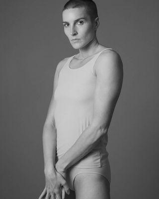 cos androgynous gender men woman portrait blackandwhitephotography