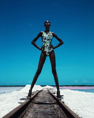 body makeup bestoftheday art summer editorial beauty style fashion raw melanin black dominicanrepublic bani photo retouch light stylist mua agency model