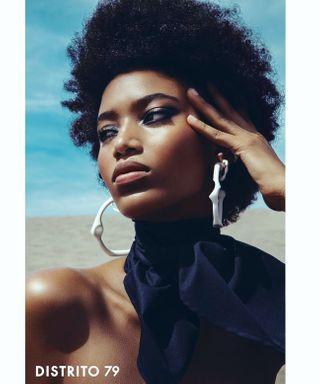 fashionable like melanin girl blackgirl dominicanrepublic photography makeup beautyretouch beauty topmodel fashion retouch stylist mua agency model video lights photo