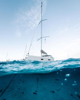 DreamYachtCharter GoproDomeport MoreSailing Oceanis511 UnderWaterPhotography
