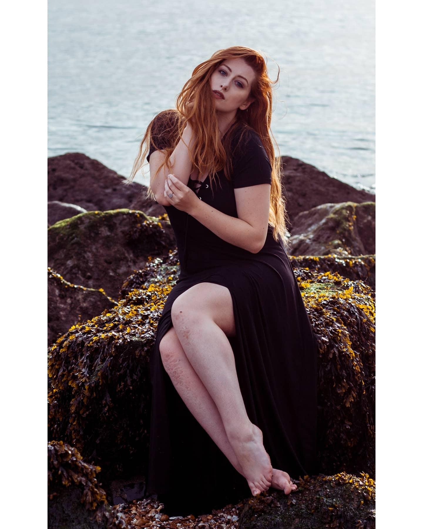 sunnyday redhead beachshoot follow model modeling photo photooftheday photographer photography