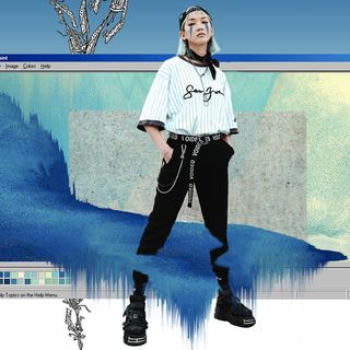 wave vaporwave visualsgang darkness lightroom neon artwork graphicdesign design graphic project blogger fashion streetstyle street france paris kawaii japan asian laos photography photoshoot neoscout