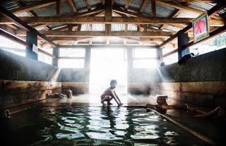 bhutan buddhism bathing mybhutan himalayas kids gasa portrait buddhist water travel hotsprings