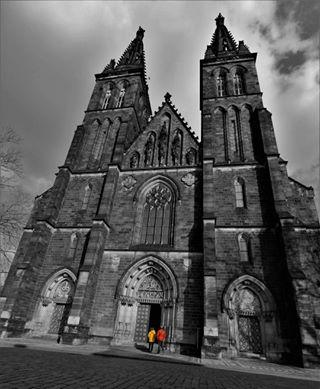 visit_prague black colours church czechrepublic igerscz white architecture prague vysehrad pop photooftheday monochrome tourist instadaily mycanon
