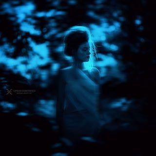 beauty beautyphotographer beautyphotography blue cipriandumitrescu dream fashion fashionphotographer fashionphotography forest model nature