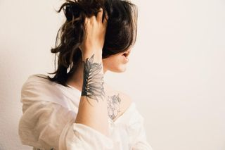 canon tattoo white people photography selfportrait
