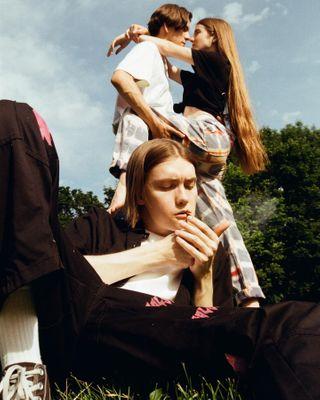 35mm brand brandingdesign castom castomjeans ciggarettes filmisnotdead filmphoto filmphotography jeans love youth
