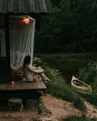 gestaltenhideouts rewilding cabin cabinlife