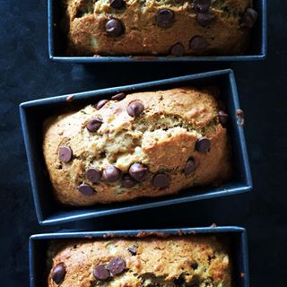 mondayissweet sweetmonday sweetmondaymorning chocolatechip sweets banana instafood baking foodphotography yum