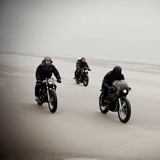 beach honda yamaha gotzgoppert riding kawasaki gb500 sr500 w650