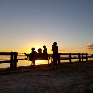 sun evening sunset galaxy7edge