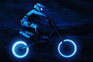 daytonight neon photomanipulation jackspictures photoshop motorcyclephotography ktmoffroad motosport motocross