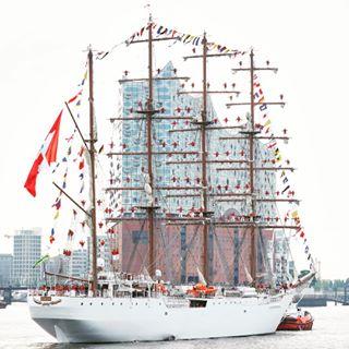 perú segelschiff union elbphilharmonie