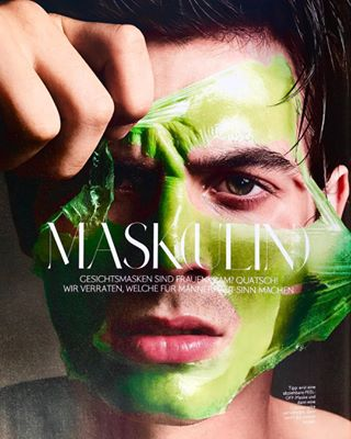outnow malemodel male instylemen germaninstylemagazine georgwendtphotography frühjahrsommer editorial beautymask beauty 2018