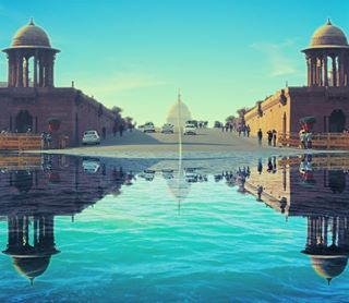 water visiting traveling travel symmetry sky reflection random photoshop photooftheday owezphotography outdoors newdelhi instatravel instago indiapictures india fake evening dusk delhi dawn city canon buildings architecture