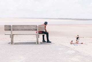 narrative landscape france family beach
