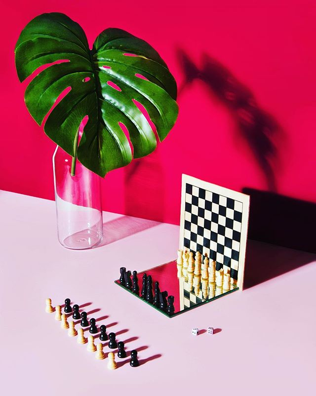 stilllifephotography marcelduchamp chess loneliness mirror time sunday colorful green game abstract play dada