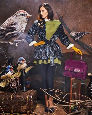 campaign clothes advertising womenfashion beautyful model