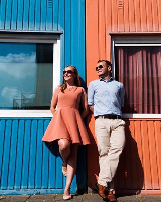 orangeandblue davepelhamphotography weddingphotography portrait ndsm engagementshoot colourcoordination couple amsterdam pastels whenitwasstillsummer loveshoot