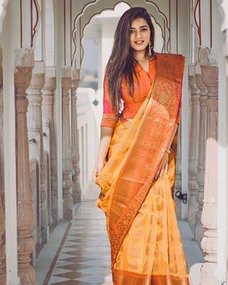 weddingdress wedding style saree portraitphotography portrait outfitoftheday ootd model fashion elegant desigirl captured canon70d beautiful