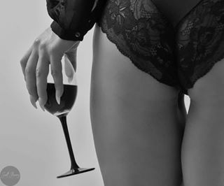 sexy winebytheglass beautiful ass boudoir wine hothothot bnw wineglass legs beauty photoshoot sensual blackandwhite lingerie backside