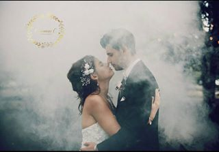 wedding pittsburghwedding kiss photogram pittsburgh 2016 photographer photographyislifee smokegrenade vsco vscofilm photography like kisses brideandgroom mountpleasant follow followme