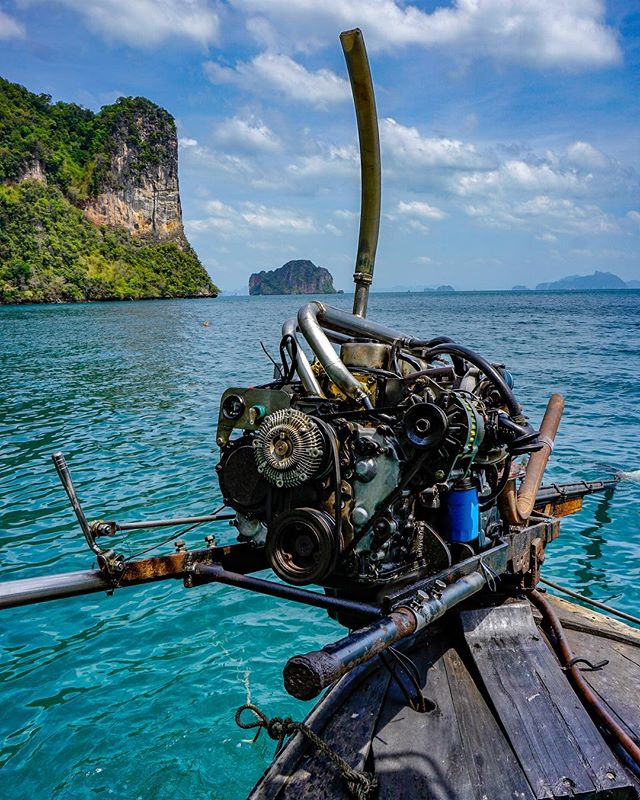 longtailboat pictureoftheday sonyalpha sony ocean traveldiary sonya6000 engine krabi vacation deepblue love travelblogger hongisland instapic thailand picoftheday travelblog sonyalphaclub