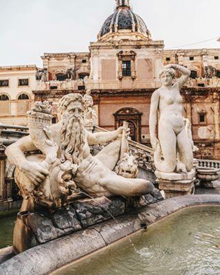 statue sicily scorcibelli place piazzapretoria palermo italy instalike instagood instacool igerspalermo igersitaly igersicilia igdaily fontanadellavergogna