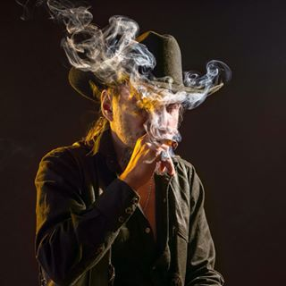 character studio real leatherjacket cowboy canon cigars leather canonphotography lexarmemory personality cowboyhat smoke lovemyjob studiophotography