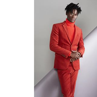 colorlook hamburg lovethispicture red dreadlocks love styling fashionphotography magazine diversity monochrome publishedwork suit fashionstory handsome setdesign wonderfulteam photoshoot studioshoot thefashionisto malemodel published fashioneditorial