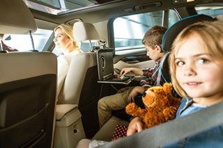 girl car photooftheday driving security backseat automotive photography children