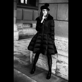 french blackandwhite style elisabettafranchi munich fall editorial smoking ronanbudec monochrome noiretblanc