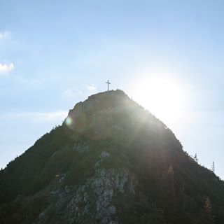gegenlicht sunlight summer peak sonne gipfelkreuz sommer gipfel